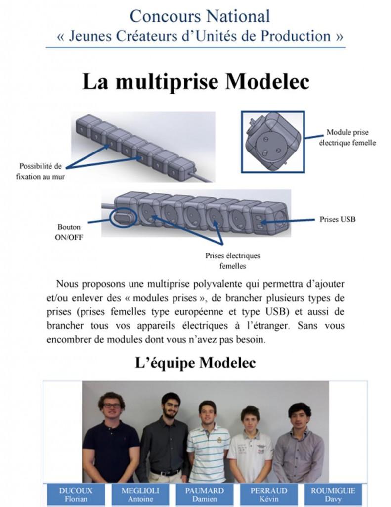 Multiprise MODELEC