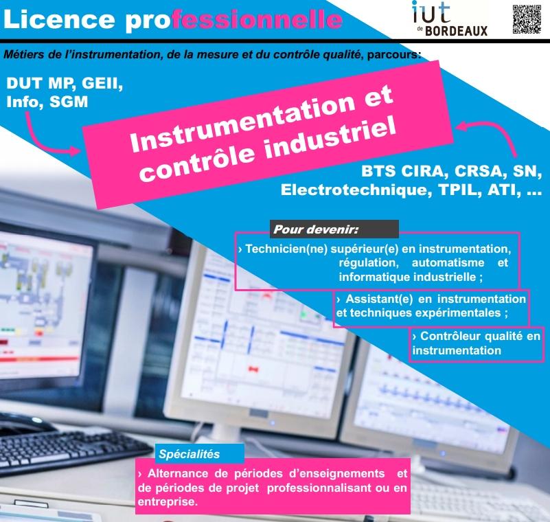 instrumentation  u0026 contr u00f4le industriel