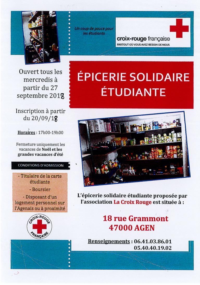 Épicerie Solidaire Étudiante