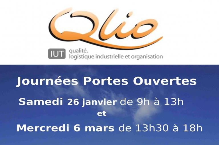 PORTES OUVERTES IUT QLIO AGEN 26-01-2019 de 9h à 13h