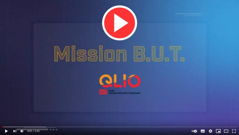Découvrir la nouvelle vidéo «Mission B.U.T QLIO»